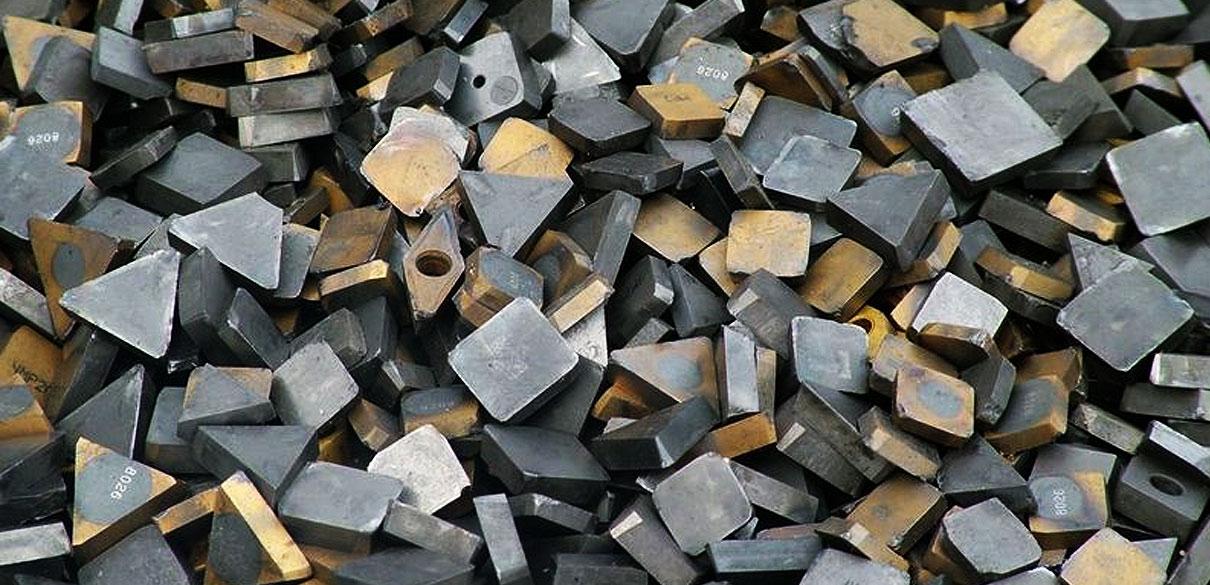 Tool steel scrap